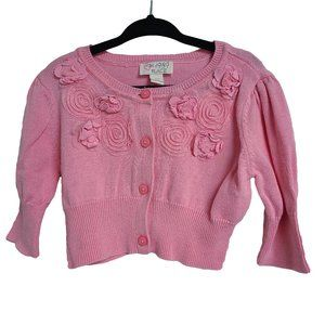 CHILDREN'S PLACE Embellished Pink Sweater S (5/6)